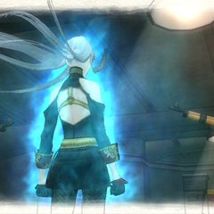 Selvaria unleashes the <i>Valkyria's Final Flame.</i><br />Screenshot