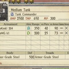 Medium Imperial Tank 3 (heavy machine gun version)