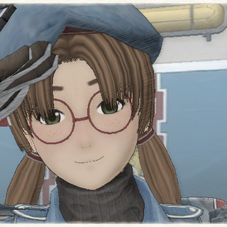 Nancy's appearance in <i>Valkyria Chronicles</i>.