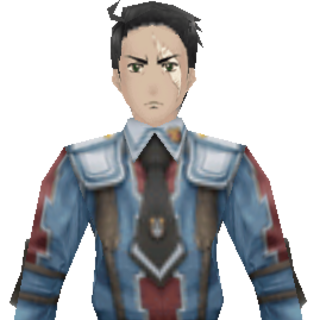 Sigrid's CG appearance in <i>Valkyria Chronicles 2</i>.