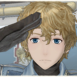 Homer's appearance in <i>Valkyria Chronicles</i>.