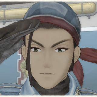 Noce's appearance in <i>Valkyria Chronicles</i>.