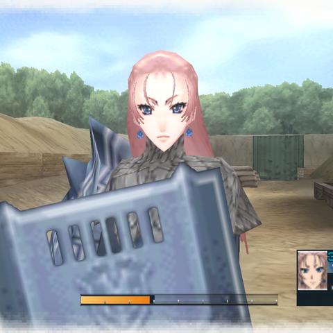 In-game screenshot of Juliana.