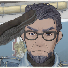 Wavy's appearance in Valkyria Chronicles.