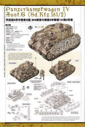 Panzer IV Ausf G Concept Art