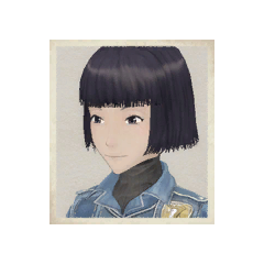 Nadine's portrait in <i>Valkyria Chronicles</i>.