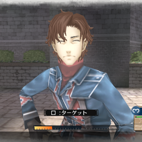 In-game screenshot of Hubert in <i>Valkyria Chronicles 3</i>.