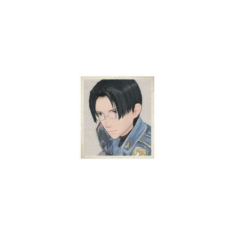 Mica's portrait in <i>Valkyria Chronicles</i>.
