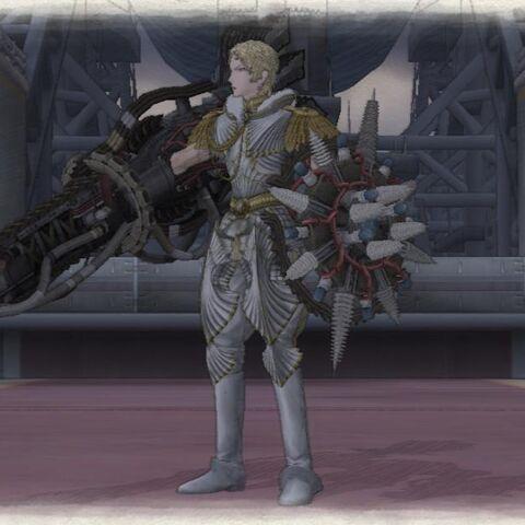 Maximilian's Artificial Valkyria appearance.