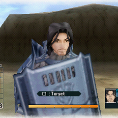 In-game screenshot of Jamill in Valkyria Chronicles 2.