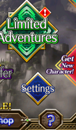 New Characters Button