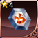 4 Star Tempered Crystal