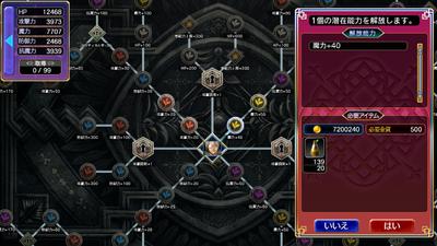 Character Potential Board Unlock