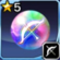 Bow Rainbow Crystal 5