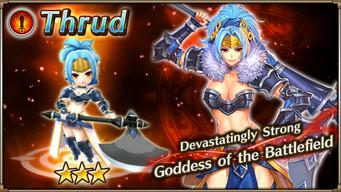 Battle God Thrud Banner
