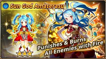 Sun God Amaterasu Banner