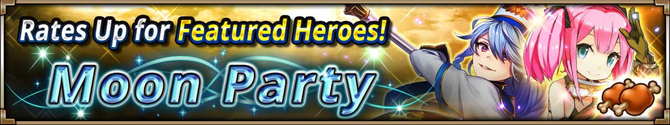 Moon Party Summon Banner
