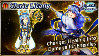 Cleric Litany Banner