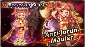 Berserker Bear Banner