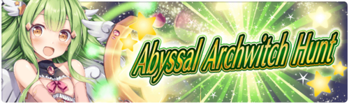 Banner 7th Abyssal Archwitch Hunt!