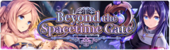 Banner Beyond the Spacetime Gate
