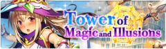 Banner Tower of Magic and Illusions