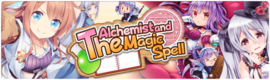 Banner The Alchemist and the Magic Spell