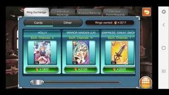 Valkyrie Crusade 3200 ABB Rings with Top 2000 Ranking!