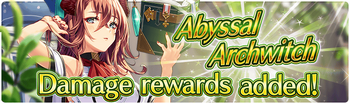 Banner 13th Abyssal Archwitch Hunt!