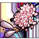 Cherry Blossom Clip