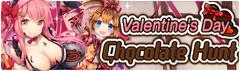 Banner Valentine's Day Chocolate Hunt