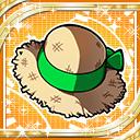 Green Straw Hat H icon