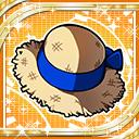 Blue Straw Hat H icon