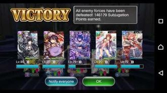 Valkyrie Crusade advance plus with pussy team