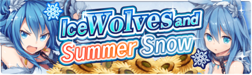 Banner Ice Wolves and Summer Snow