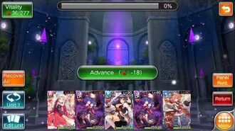 Valkyrie Crusade - Elemental Hall 4+ Dark - Majin Boo