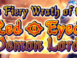 The Fiery Wrath of the Red-Eyed Demon Lord
