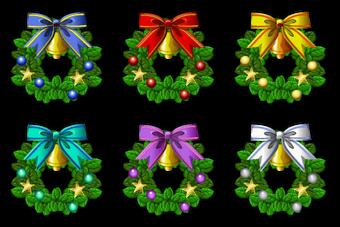 Xmas Wreath Set