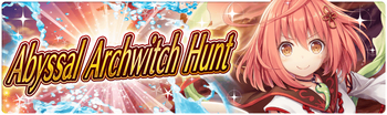 Banner 3rd Abyssal Archwitch Hunt!