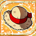 Red Straw Hat H icon