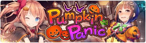 Banner Pumpkin Panic