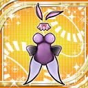 Cute Bunny Suit icon