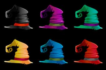 Archwitch's Hat Set