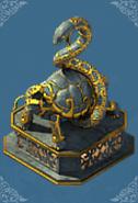 Sacred Beast Statue