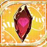 Raw Scarlet Gem icon