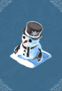 Snowman (Black)
