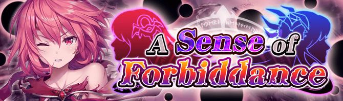 Banner A Sense of Forbiddance