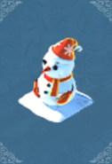 Snowman (Red)