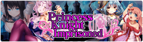 Banner Princess Knight Imprisoned