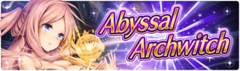 Banner 11th Abyssal Archwitch Hunt!